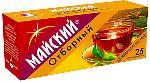 """Майский """"Отборный"""" Цейлон 25 пакетов"""