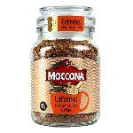 Кофе Moccona Континентал Голд с ароматом карамели 95 гр. стекло
