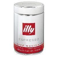 ILLY Caffe Espresso молотый, 250 гр ж/б