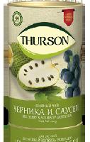 Чай Thurson ЧЕРНИКА & САУСЕП зеленый 100 гр