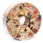 Чай Zylanica Подарочный набор Экзотические фрукты (100 гр. х 5 шт.) черный ж/б