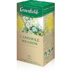GREENFIELD CAMOMILE MEADOW  25 пакетов