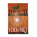 чай POLANTI с корицей черный 100 г