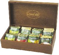 GREENFIELD Деревянная шкатулка ( 96 пакетиков чая)